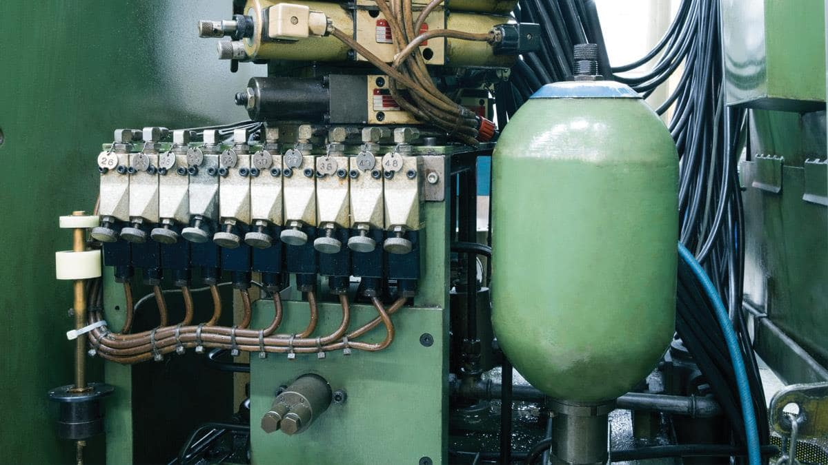 لاستیک آکومولاتور قطعهای کلیدی در تثبیت فشار